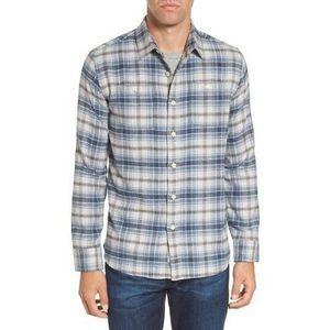Grayers Campton Plaid Modern Fit Flannel Shirt